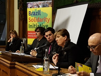 Brazil Solidarity Initiative launch