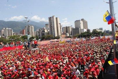Pro government protest Venezuela 2019