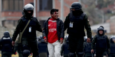 Bolivia coup picture