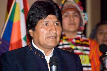 Evo Morales Bolivia 10 November