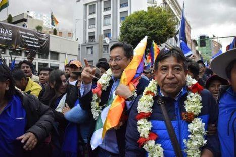 MAS candidates Bolivia